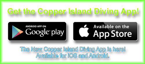 Copper Island Diving App!